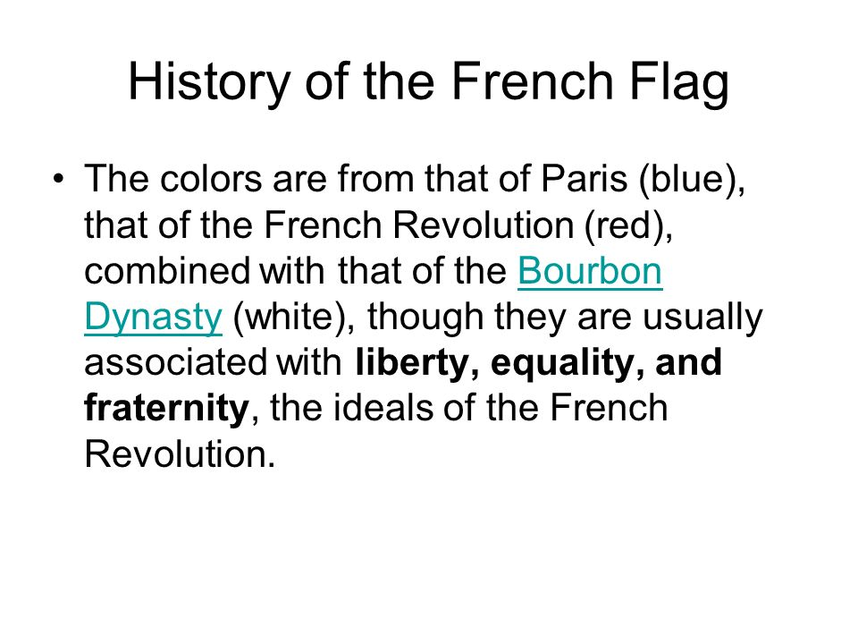 History of the French Flag