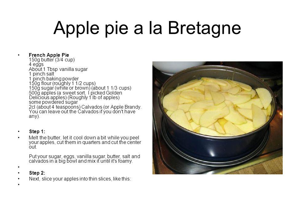Apple pie a la Bretagne