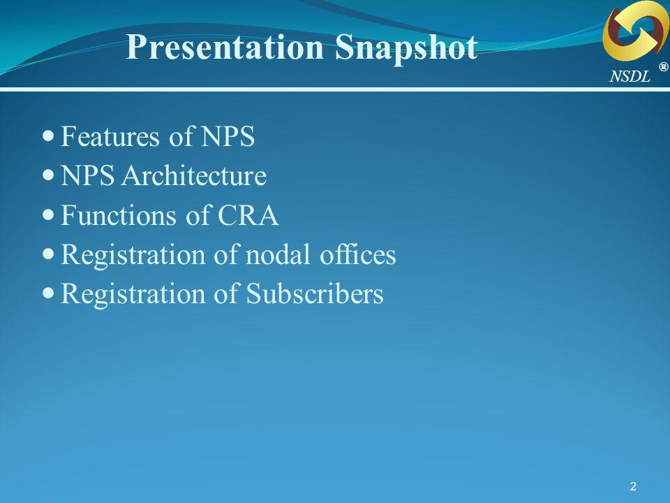 Presentation Snapshot