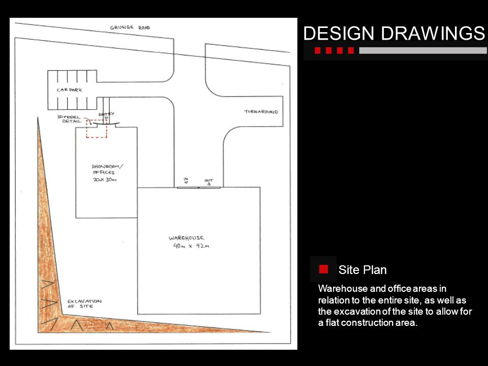 DESIGN DRAWINGS Site Plan