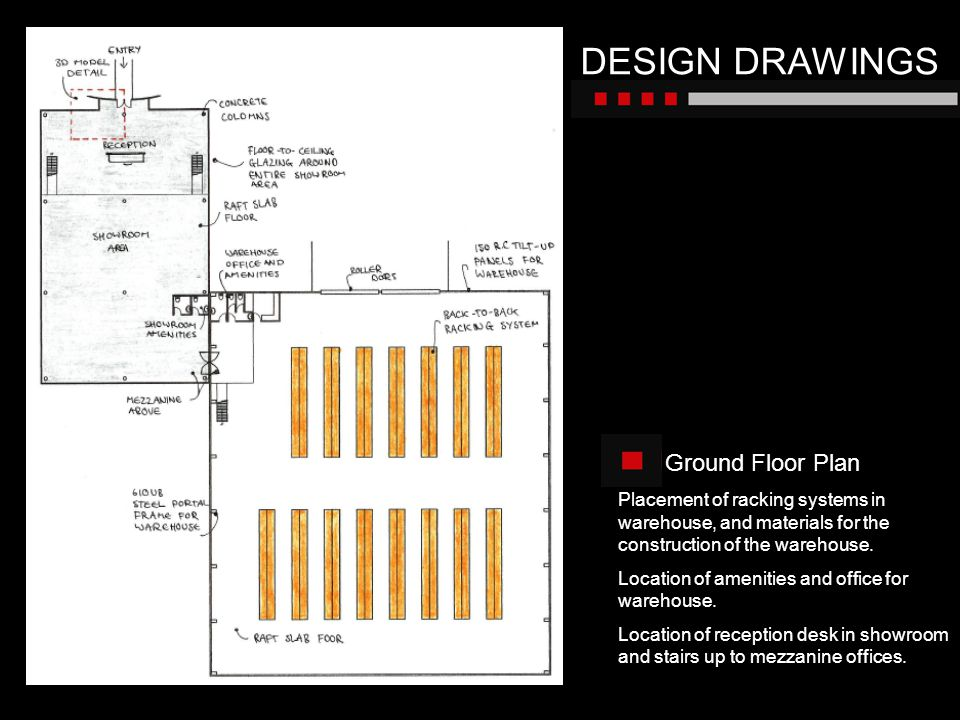 DESIGN DRAWINGS Ground Floor Plan