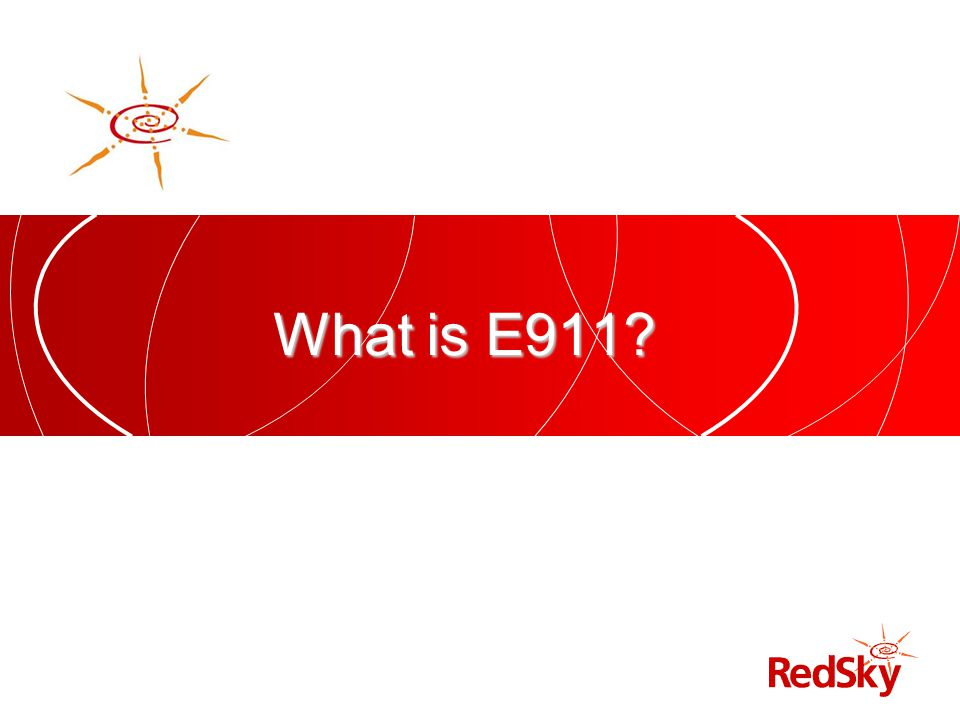 What is E911