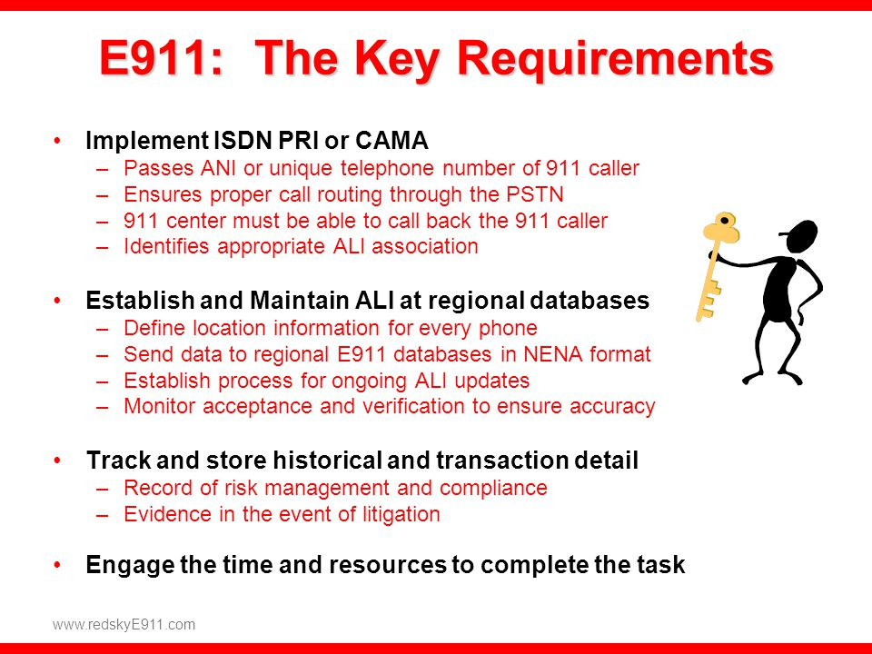 E911: The Key Requirements
