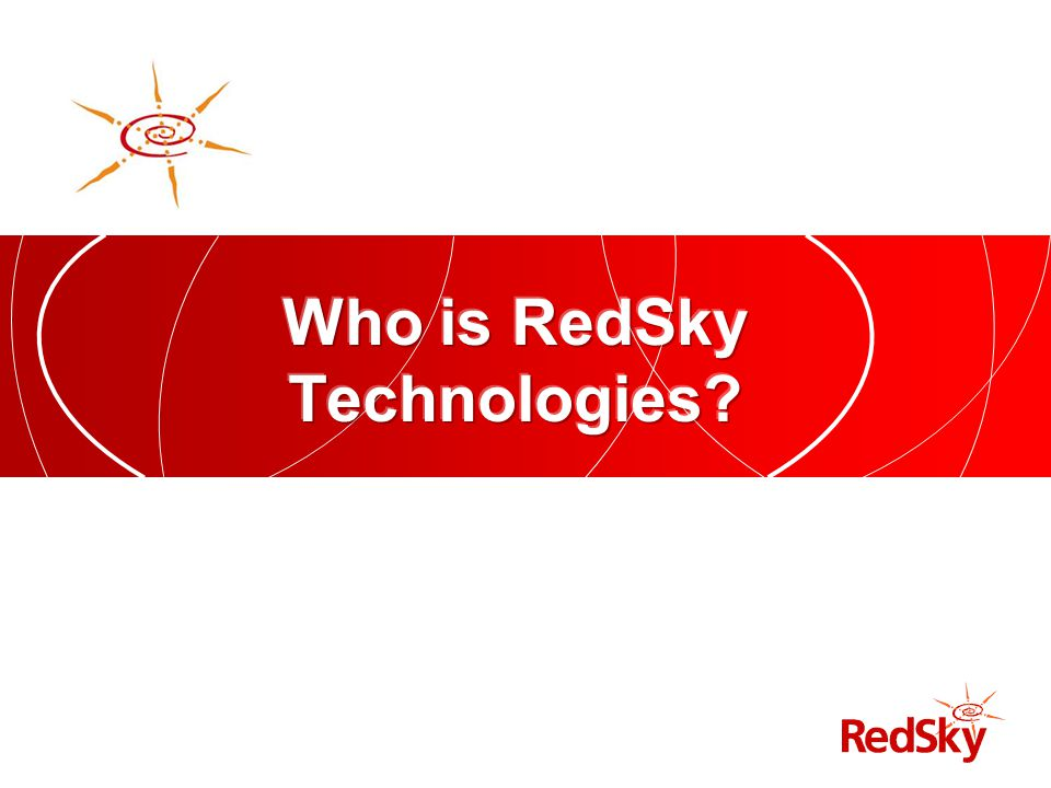 Who is RedSky Technologies