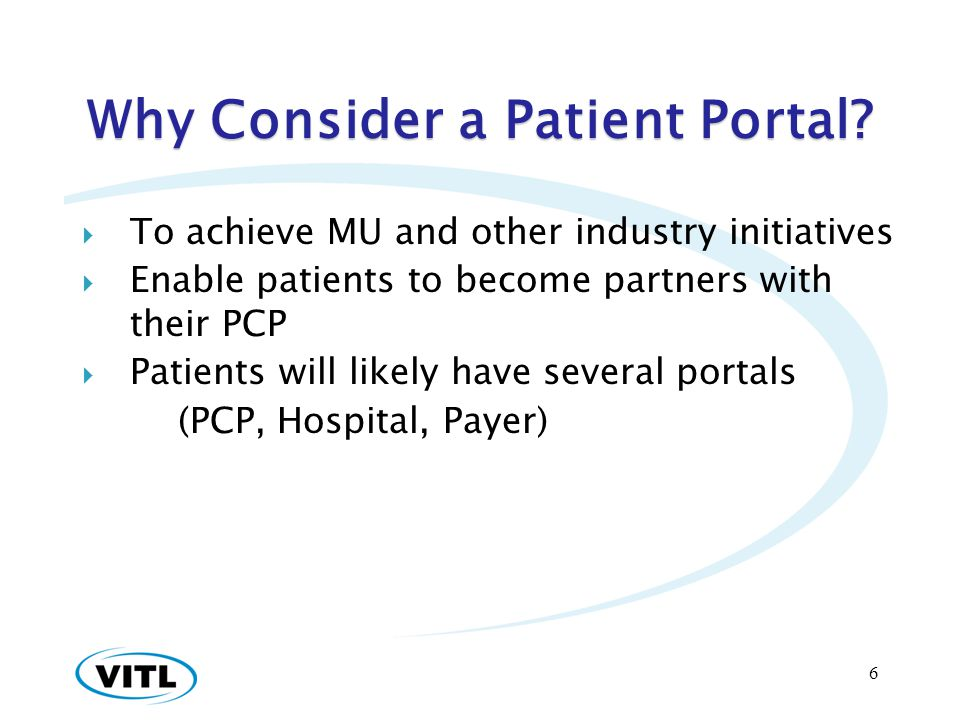 Why Consider a Patient Portal