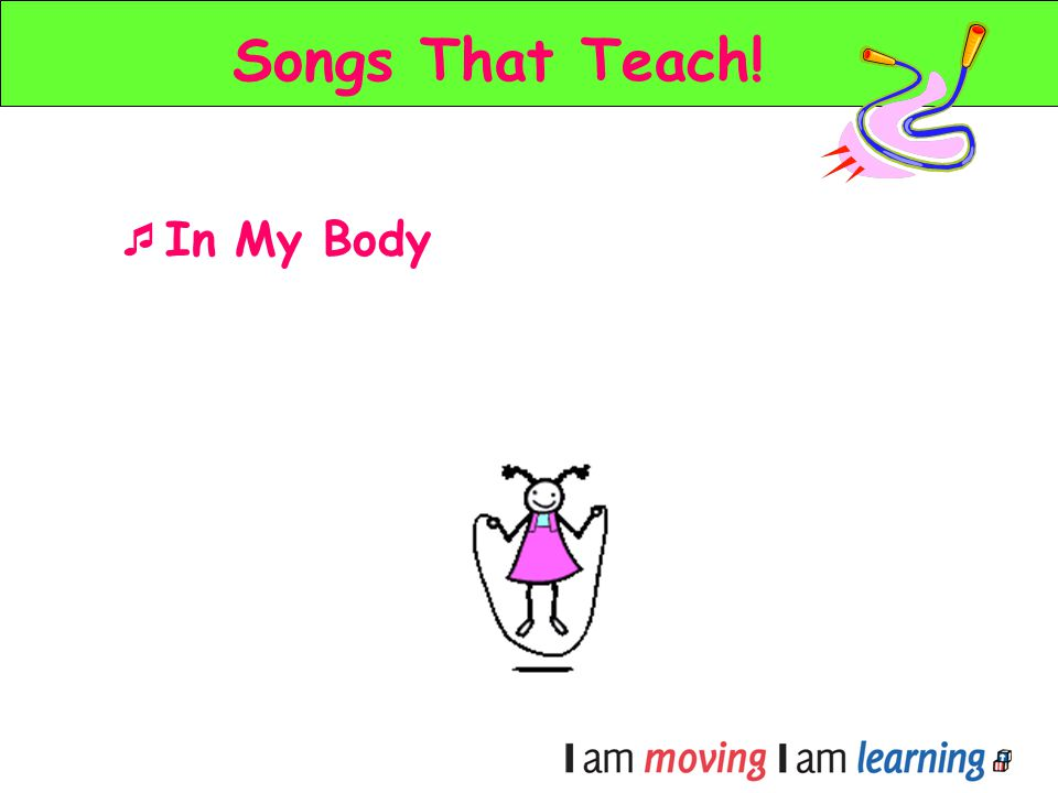 Songs That Teach! In My Body