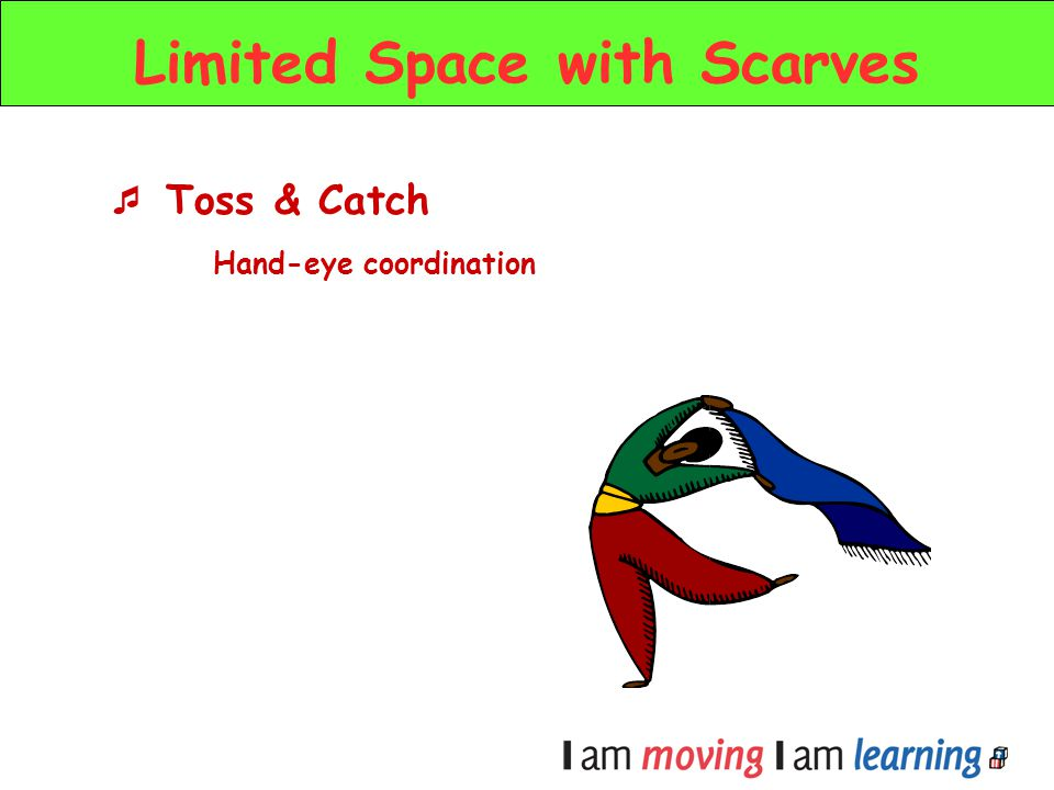 Limited Space with Scarves