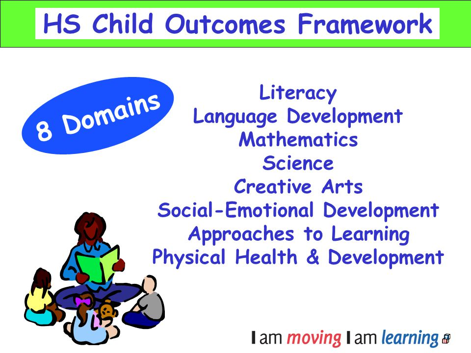 HS Child Outcomes Framework 8 Domains