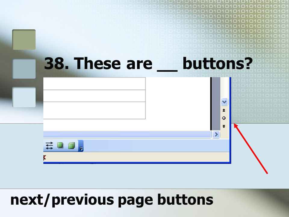 next/previous page buttons