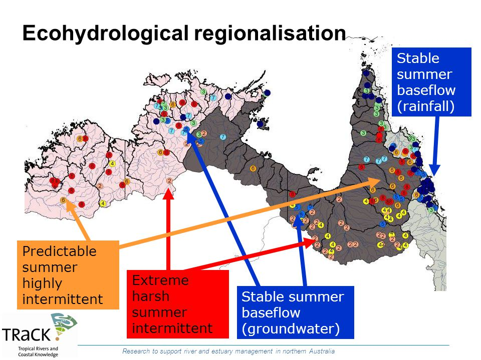 Ecohydrological regionalisation