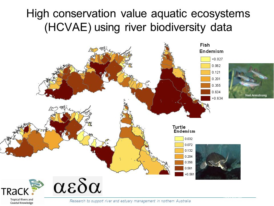 High conservation value aquatic ecosystems (HCVAE) using river biodiversity data