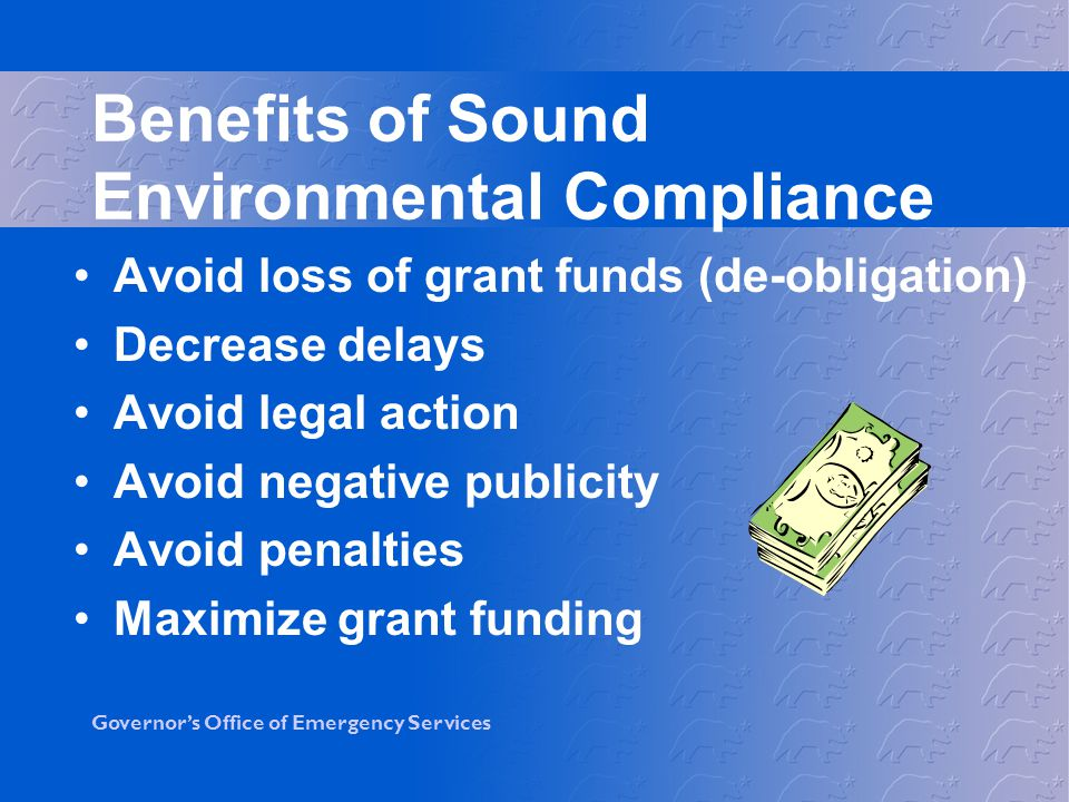 Benefits of Sound Environmental Compliance