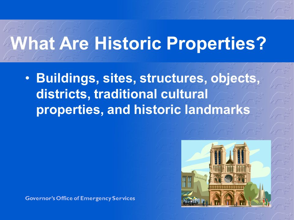 What Are Historic Properties
