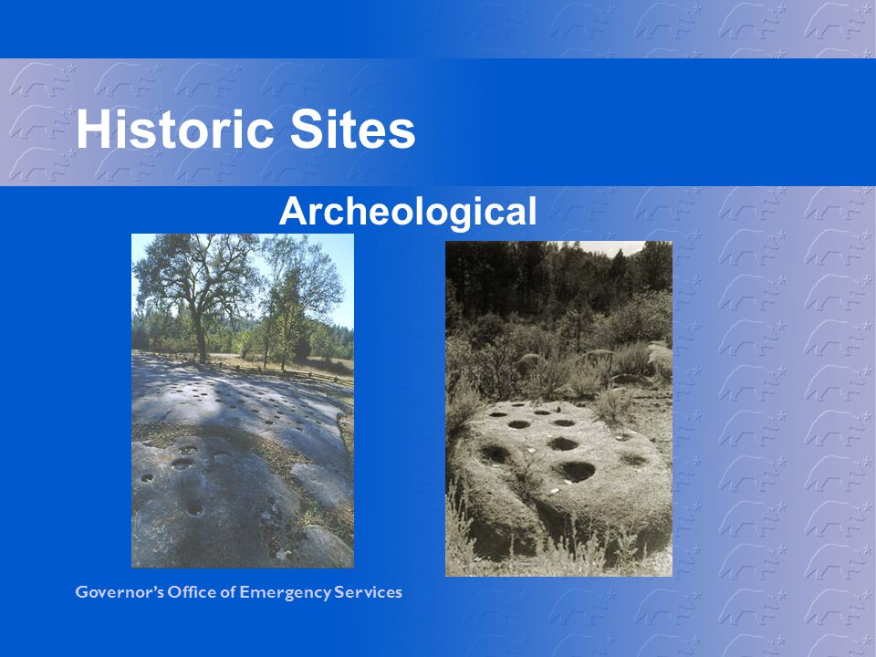 Historic Sites Archeological
