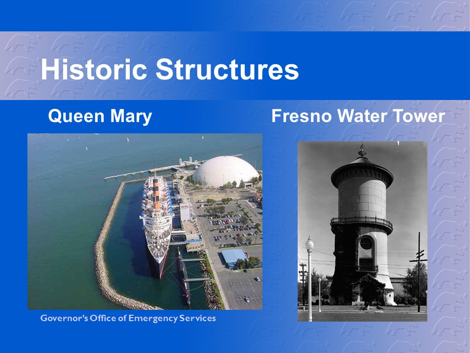 Historic Structures Queen Mary Fresno Water Tower