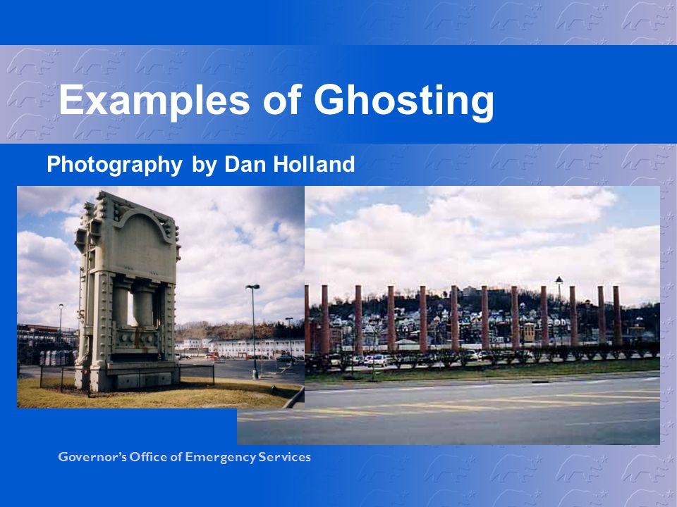 Examples of Ghosting Photography by Dan Holland