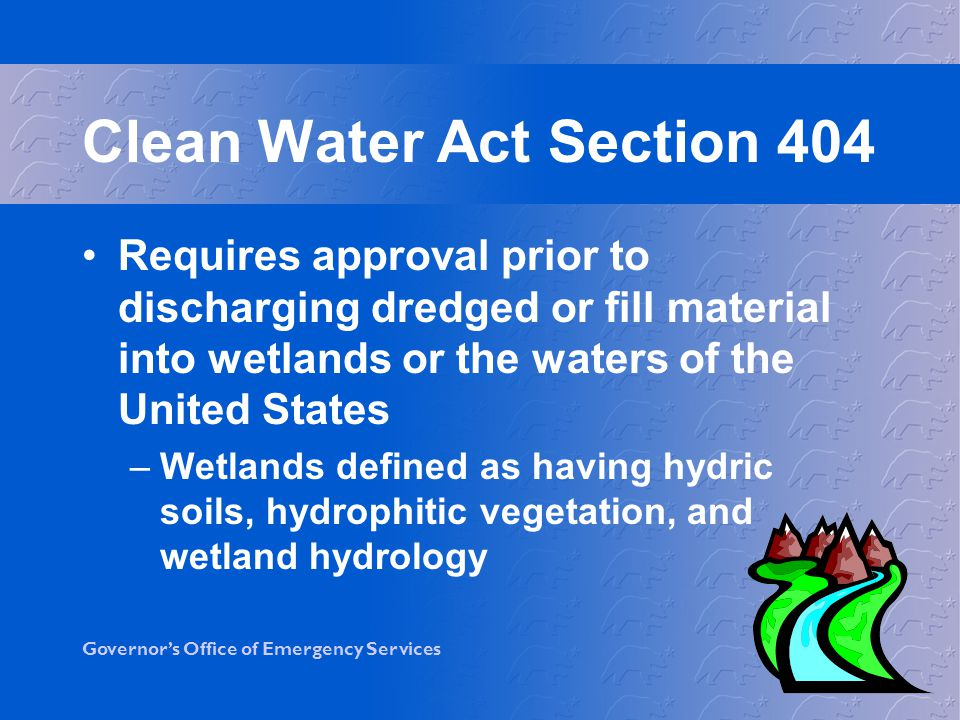Clean Water Act Section 404