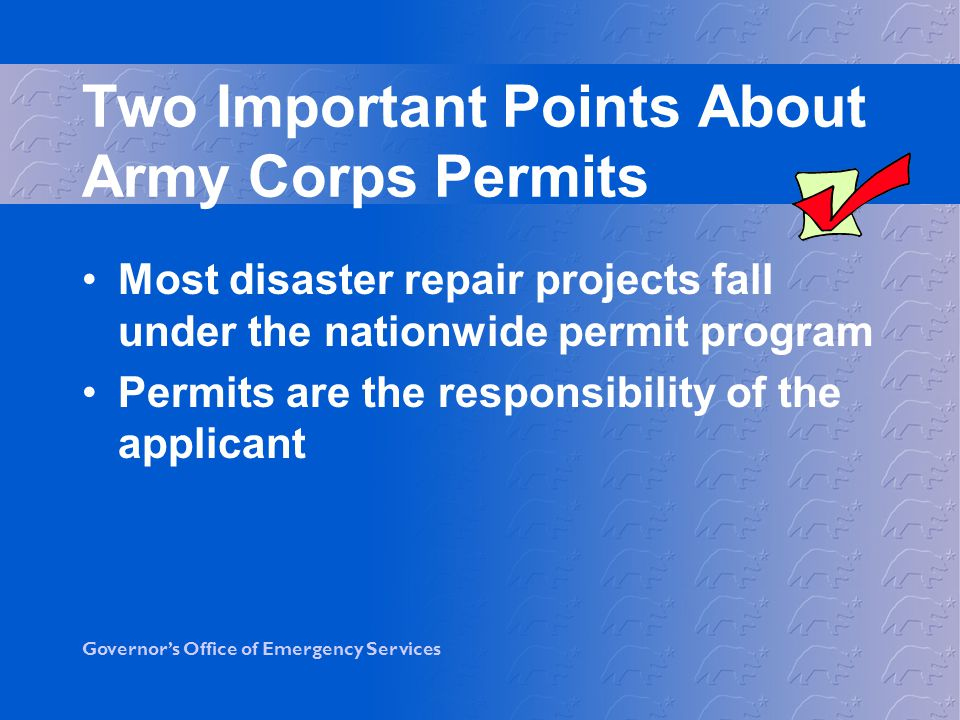 Two Important Points About Army Corps Permits