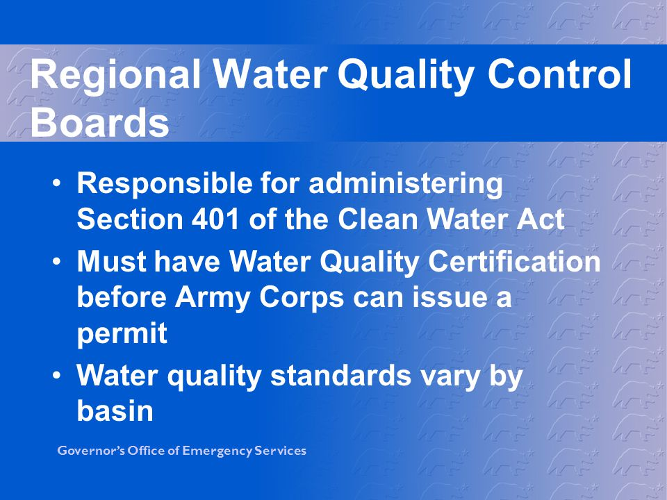 Regional Water Quality Control Boards