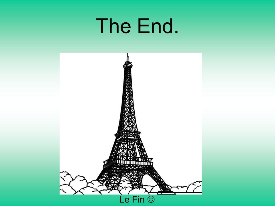 The End. Le Fin 