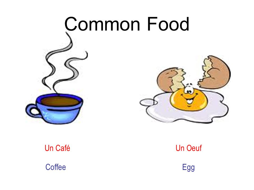Common Food Un Café Un Oeuf Coffee Egg