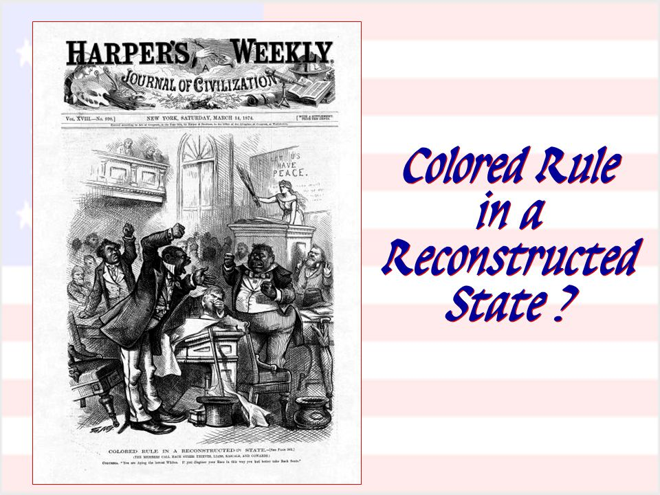 Colored Rule in a Reconstructed State