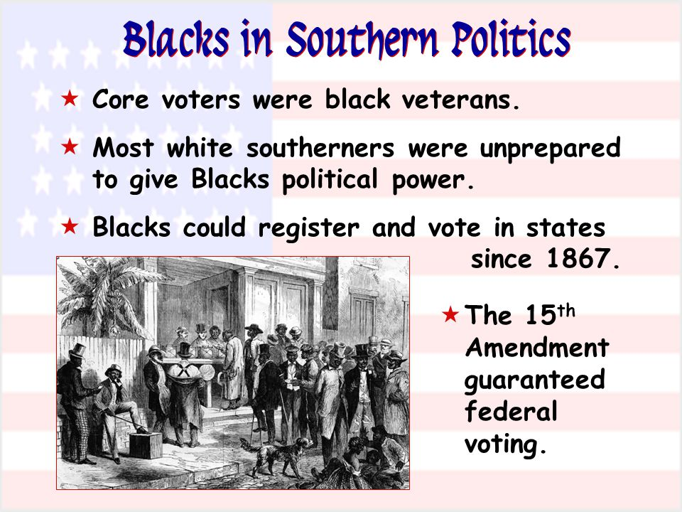 Blacks in Southern Politics