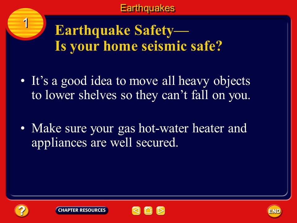 Earthquake Safety— Is your home seismic safe