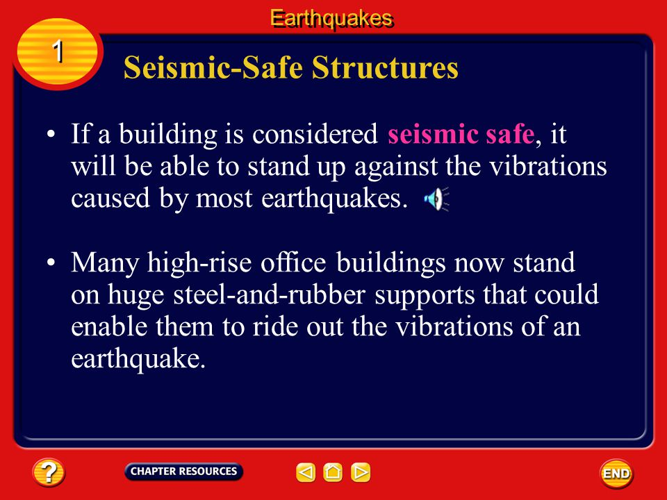 Seismic-Safe Structures