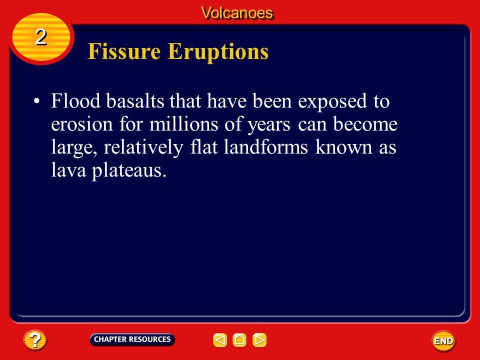 Volcanoes 2. Fissure Eruptions.