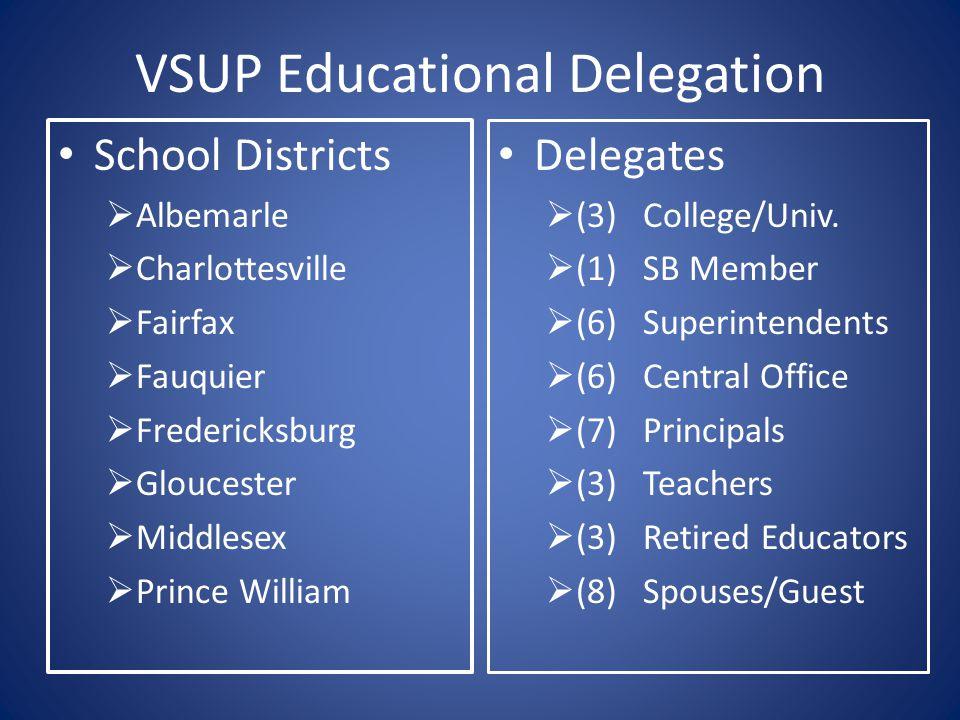 VSUP Educational Delegation
