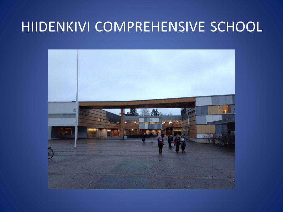 HIIDENKIVI COMPREHENSIVE SCHOOL