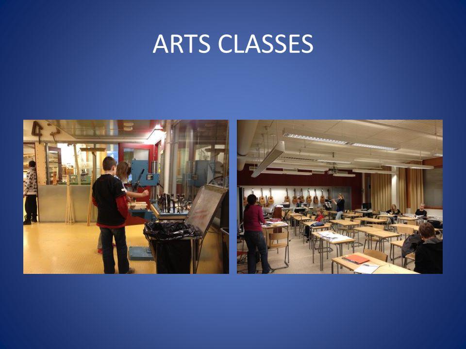 ARTS CLASSES