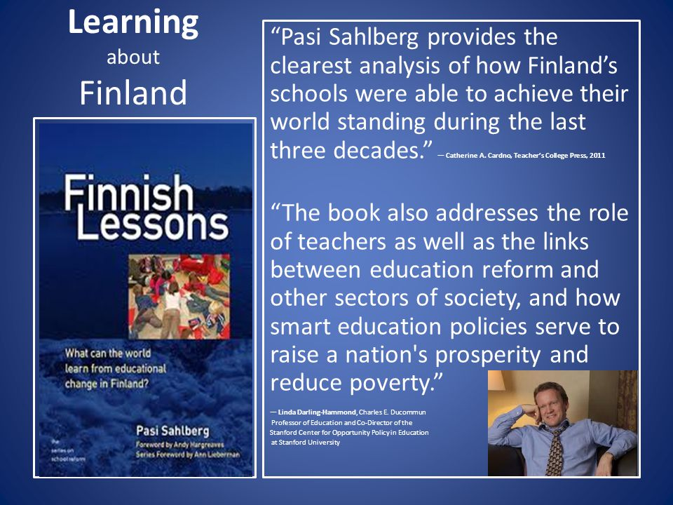 Learning about Finland