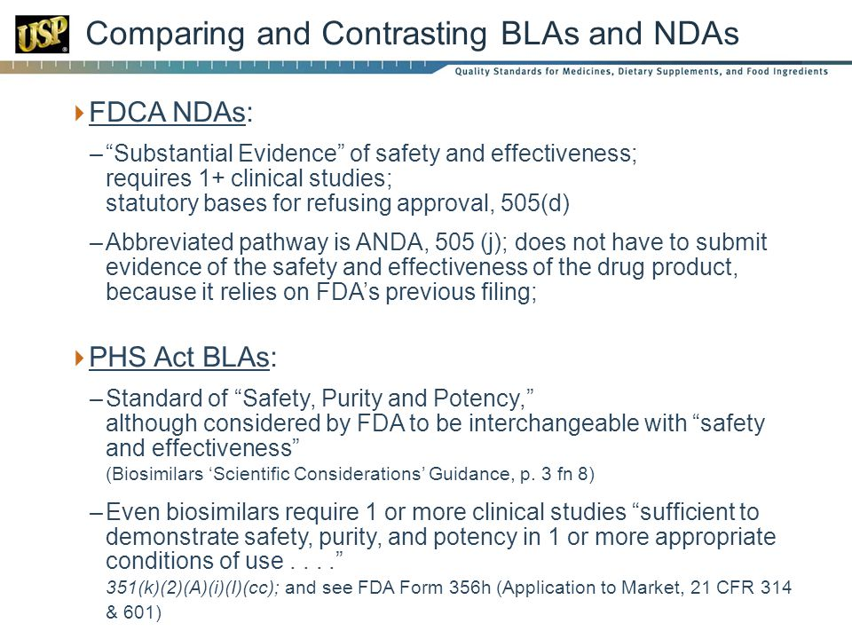 Comparing and Contrasting BLAs and NDAs