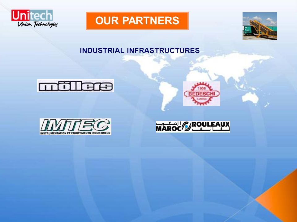OUR PARTNERS INDUSTRIAL INFRASTRUCTURES