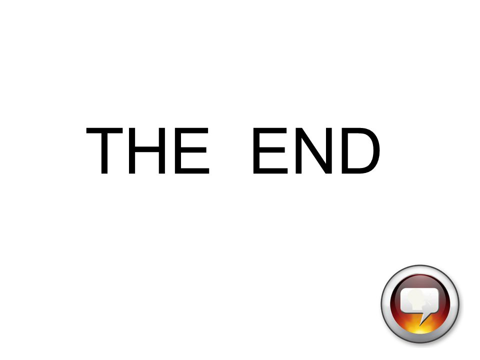 THE END The END 