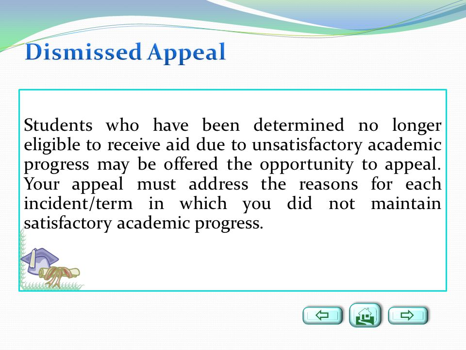 Dismissed Appeal