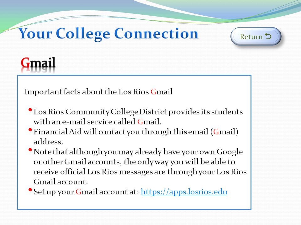 Your College Connection