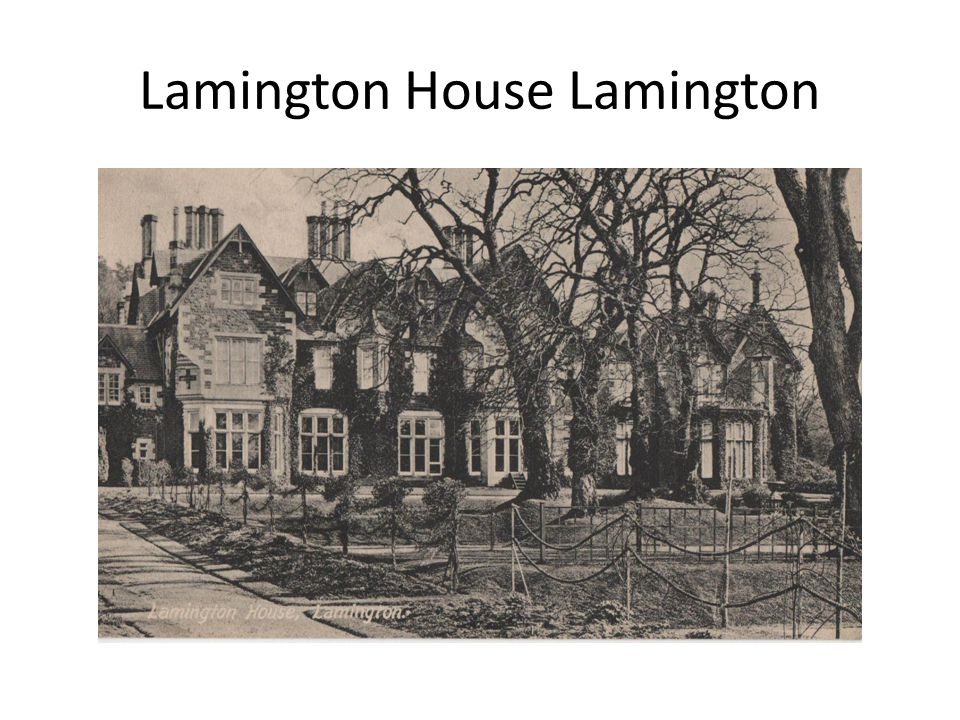 Lamington House Lamington