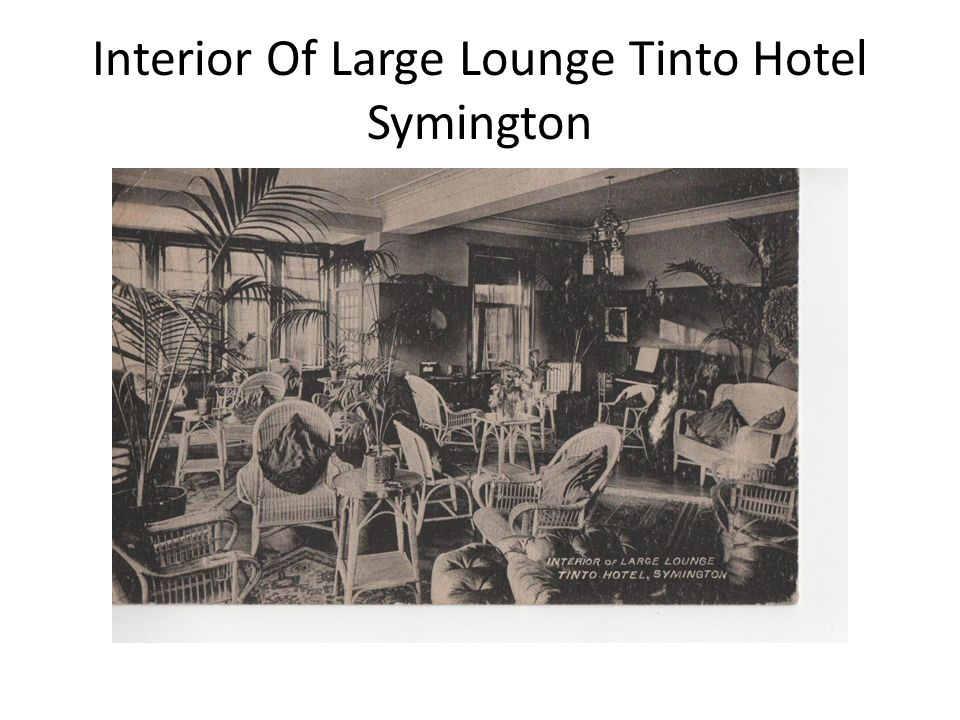 Interior Of Large Lounge Tinto Hotel Symington
