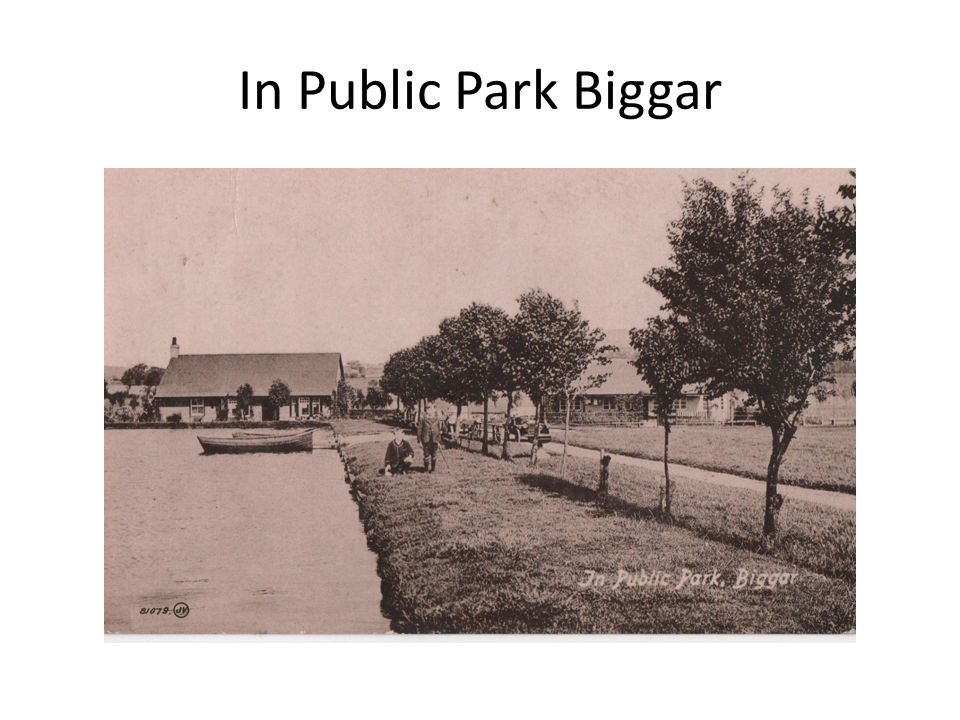 In Public Park Biggar