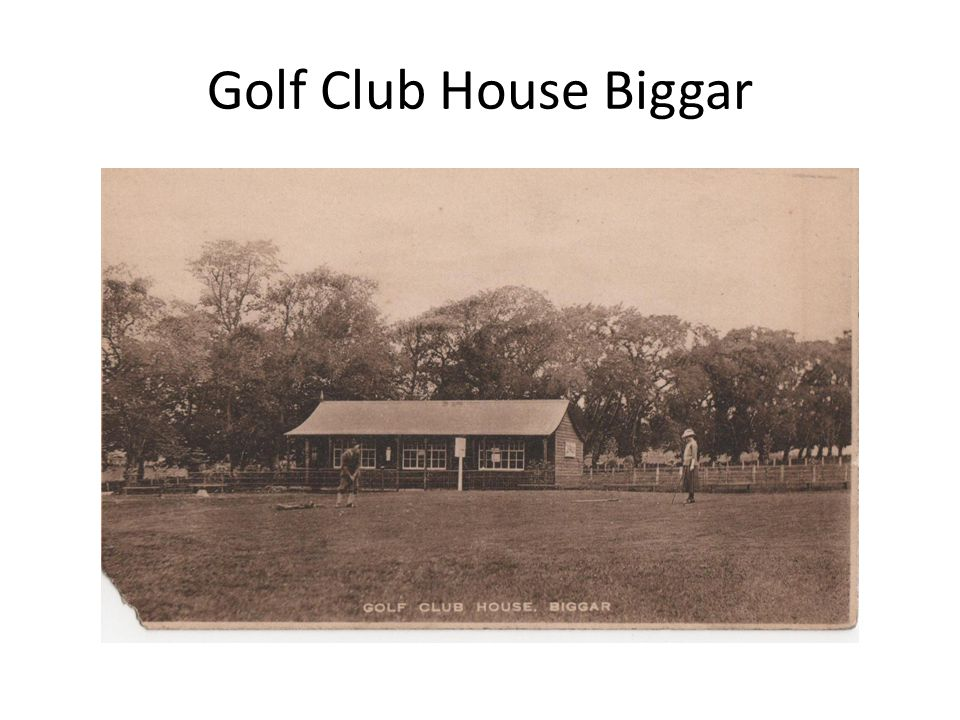 Golf Club House Biggar