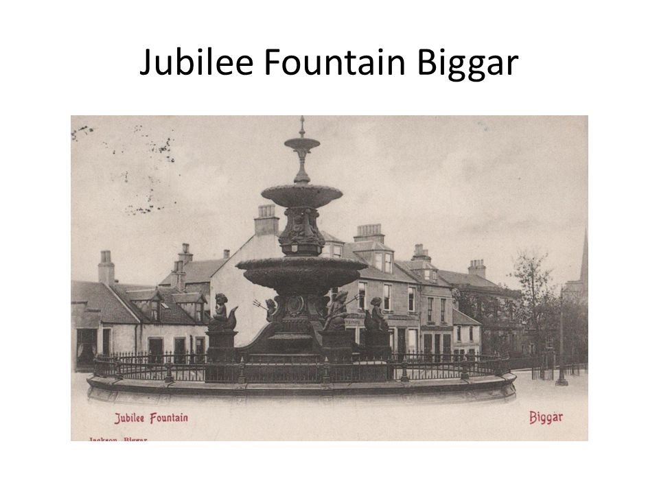 Jubilee Fountain Biggar
