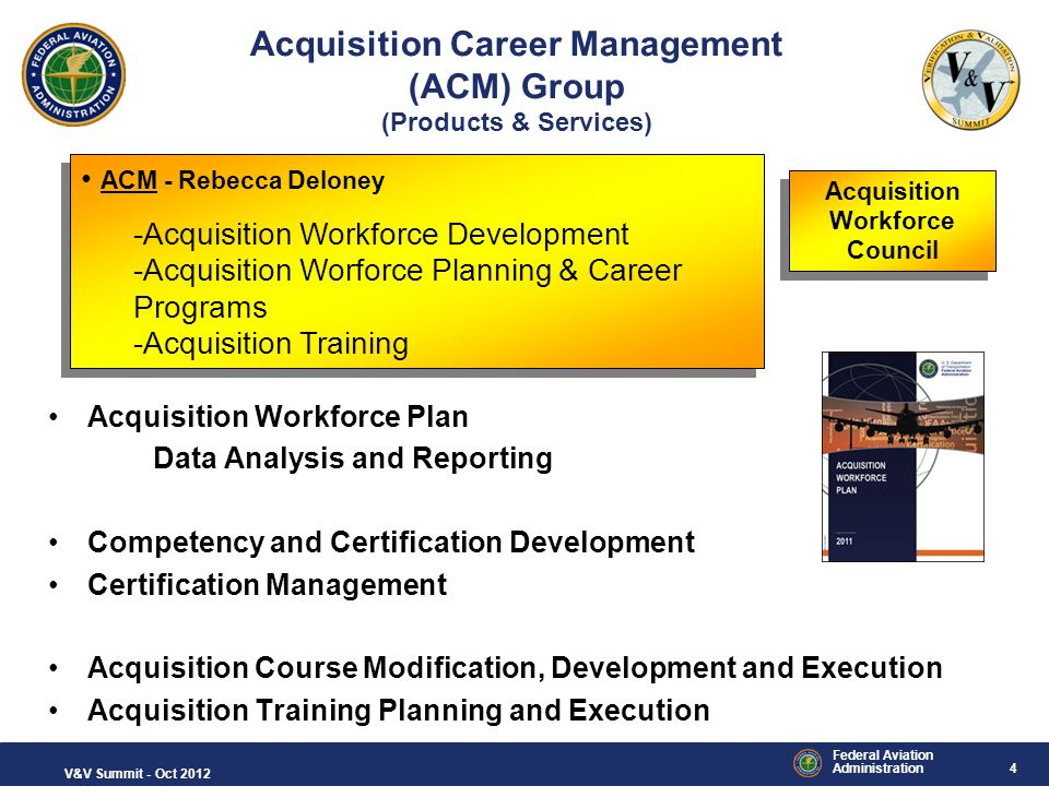 Acquisition Career Management (ACM) Group (Products & Services)