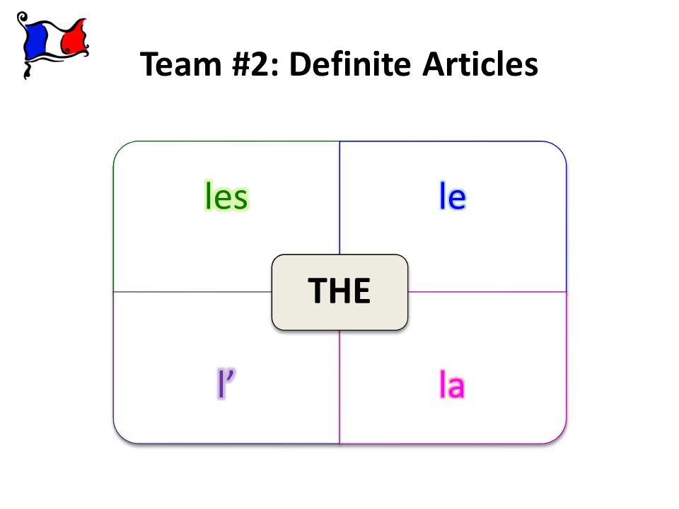 Team #2: Definite Articles