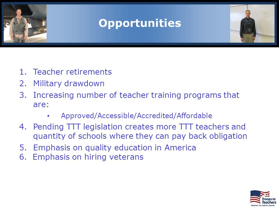 Lewis and Clark Region Opportunities Teacher retirements