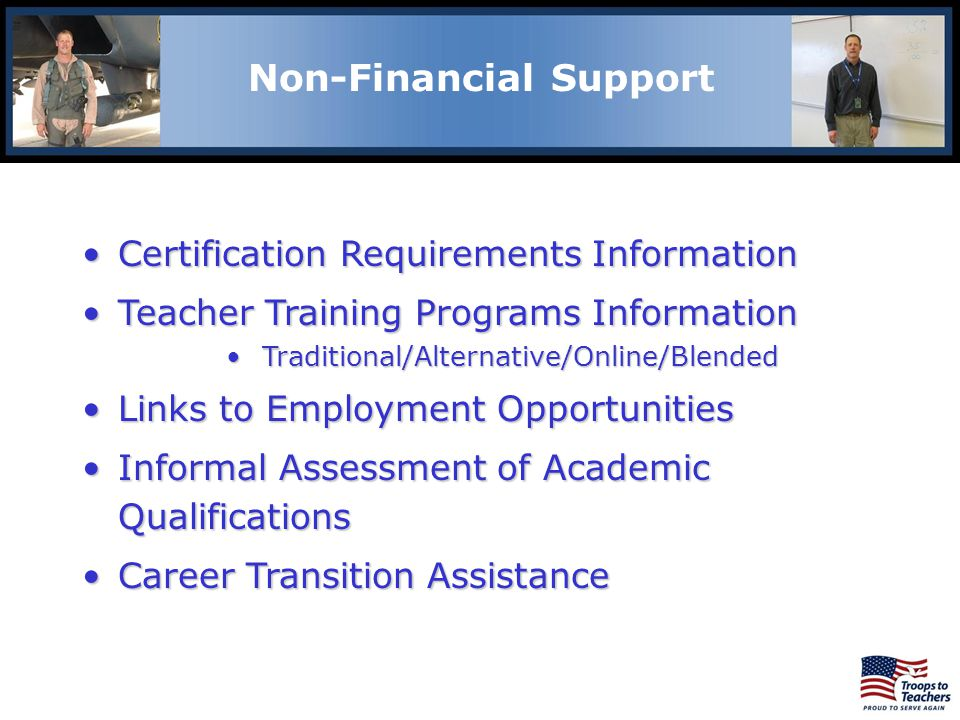 Non-Financial Support