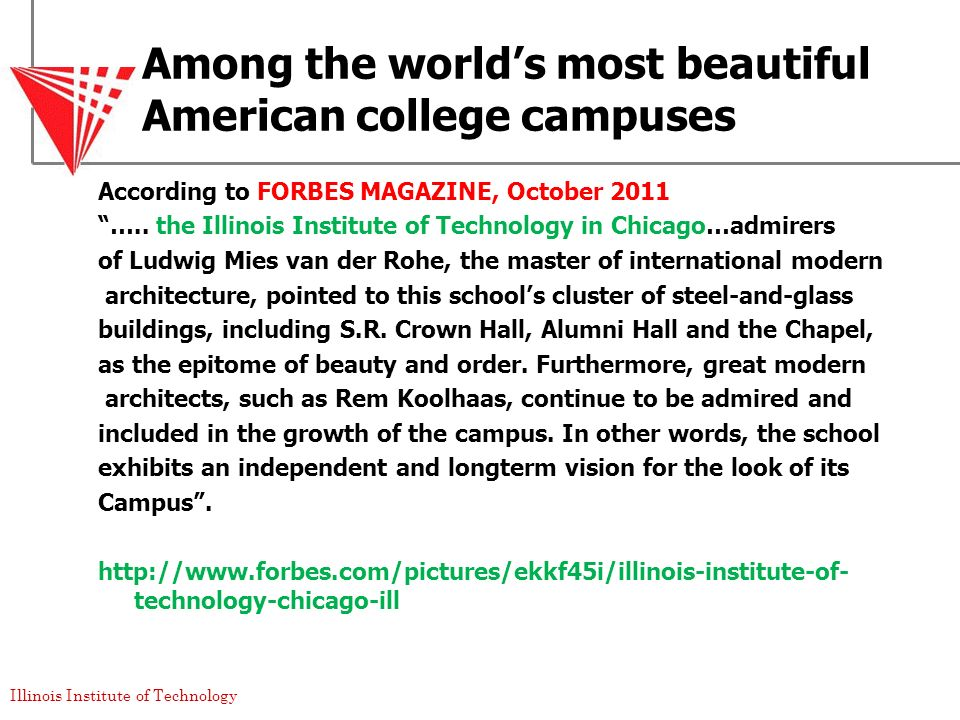 Among the world's most beautiful American college campuses