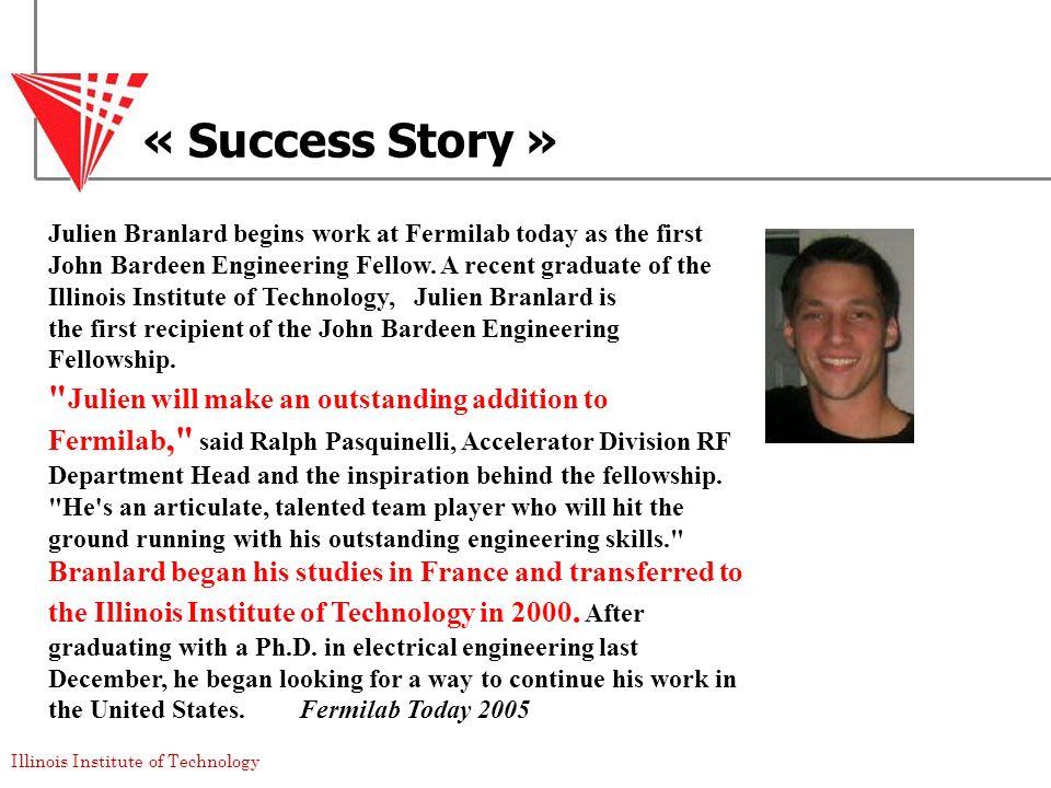 « Success Story »